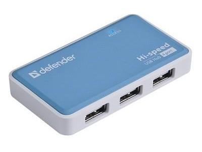 Концентратор USB2 4PORT QUADRO 83503 DEFENDER