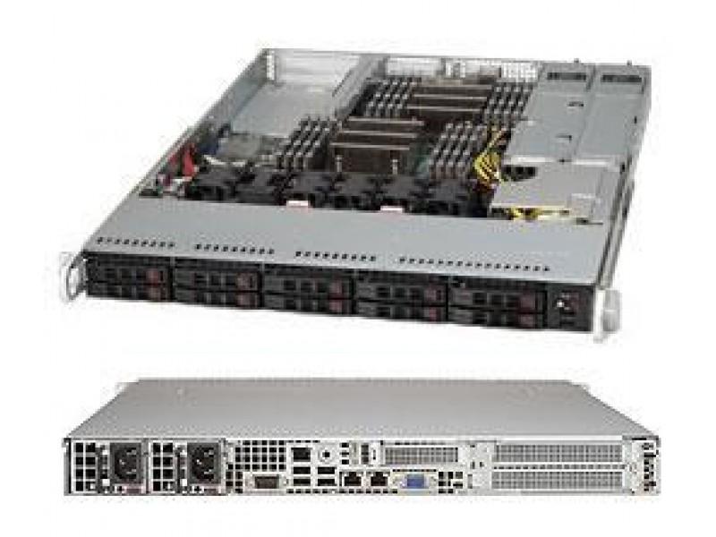 Корпус для сервера 1U 700/750W CSE-116AC2-R706WB2 SUPERMICRO