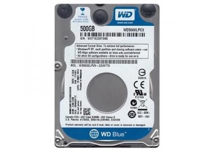 "Жесткий диск SATA2.5"" 500GB 5400RPM 16MB WD5000LPCX WDC"