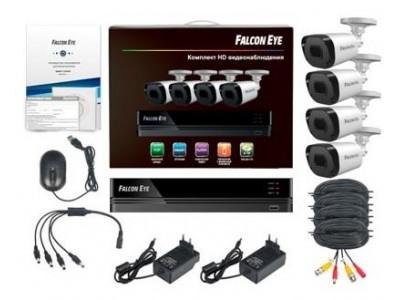 Комплект видеонаблюдения 4CH + 4CAM KIT FE-104MHD DACHA SMA FALCON EYE