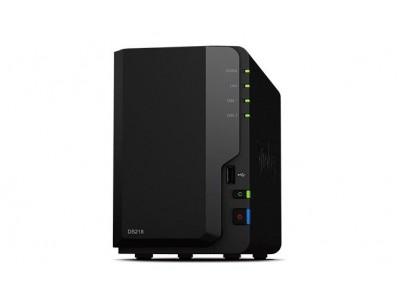 СХД настольное исполнение 2BAY NO HDD USB3 DS218 SYNOLOGY