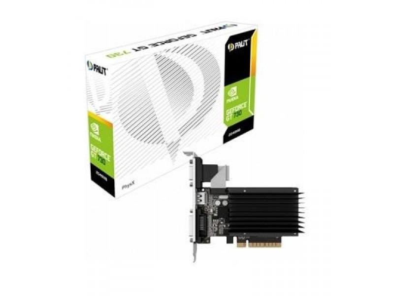 Видеокарта PCIE8 GT730 2GB GDDR3 PA-GT730K-2GD3H PALIT