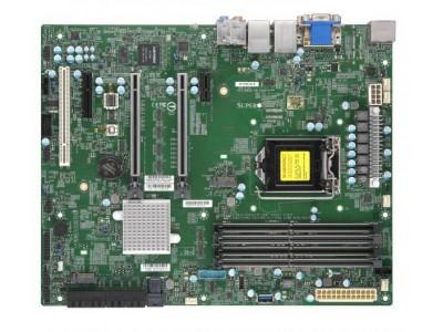 Серверная материнская плата C246 S1151 ATX MBD-X11SCA-F-O SUPERMICRO