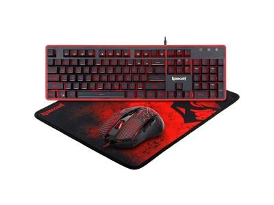 Клавиатура + мышка +PAD S107 REDRAGON RU 78225 DEFENDER