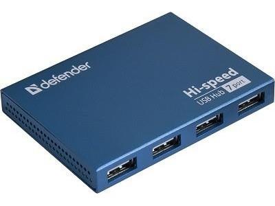 Концентратор USB2 7PORT SEPTIMA SLIM 83505 DEFENDER