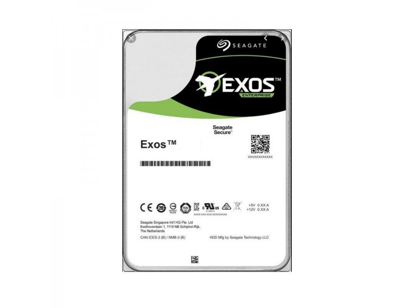 Жесткий диск SATA 14TB 7200RPM 6GB/S 256MB ST14000NM001G SEAGATE