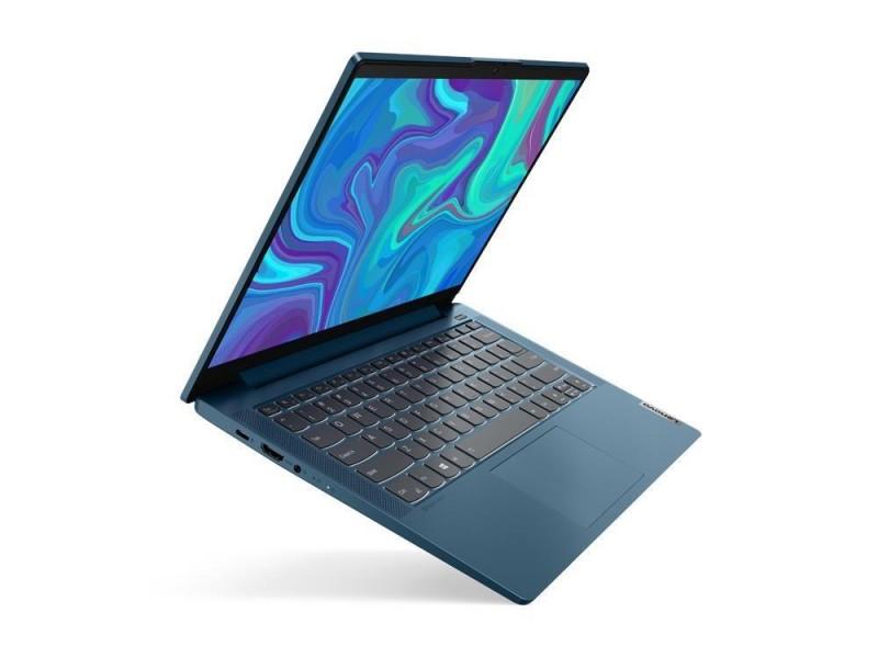 "Ноутбук LENOVO IdeaPad 5 14IIL05 i5-1035G1 1000 МГц 14"" 1920x1080 8Гб SSD 512Гб нет DVD Intel UHD Graphics встроенная Windows 10 Home in S mode зеленовато-голубой 81YH0067RU"