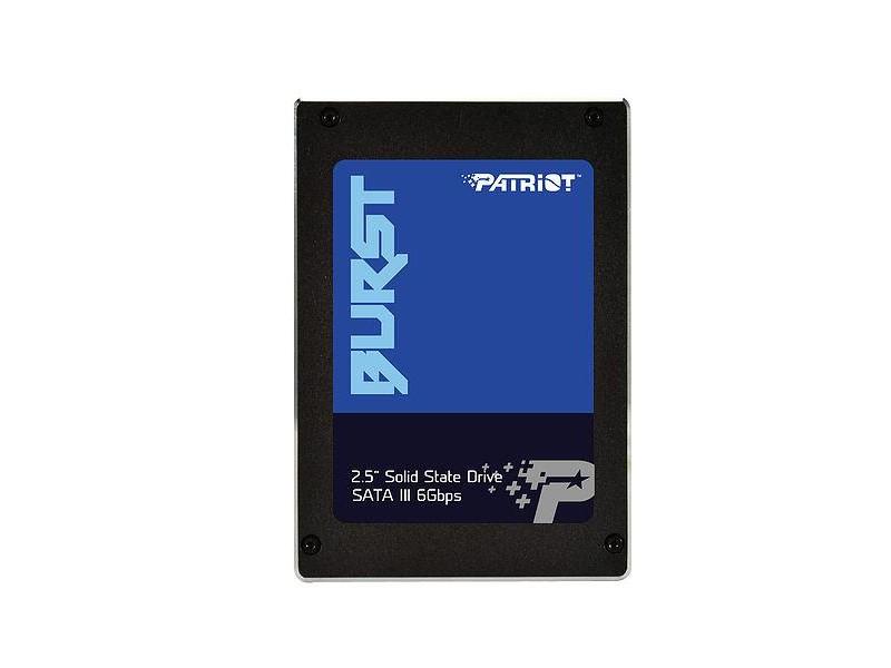 "SSD жесткий диск SATA2.5"" 480GB BURST PBU480GS25SSDR PATRIOT"