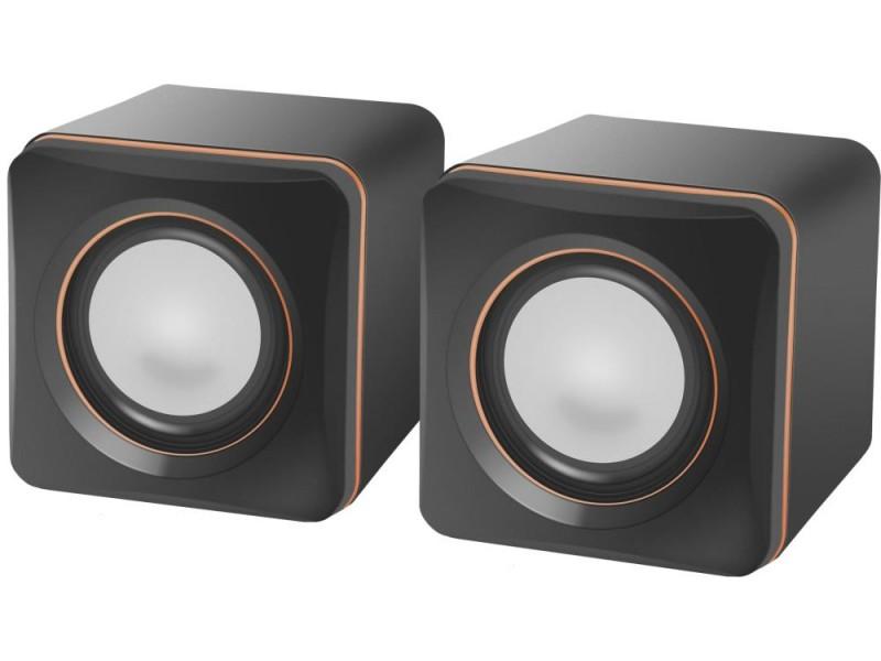 Акустическая система DEFENDER SPK 33 Цвет черный / оранжевый 0.15 кг 65633