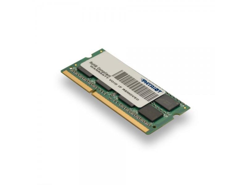 Модуль памяти для ноутбука 4GB PC12800 DDR3 SO PSD34G1600L2S PATRIOT