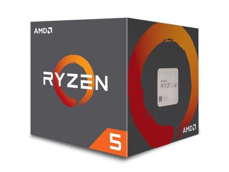 Процессор RYZEN X4 R5-2400G SAM4 BOX 65W 3600 YD2400C5FBBOX AMD
