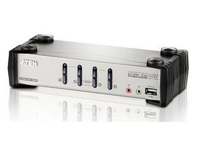 KVM-переключатель USB 4PORT W/OSD CS1734B-A7-G ATEN