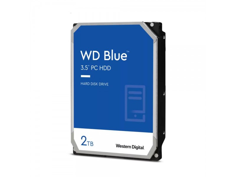 Жесткий диск SATA 2TB 6GB/S 256MB BLUE WD20EZBX WDC