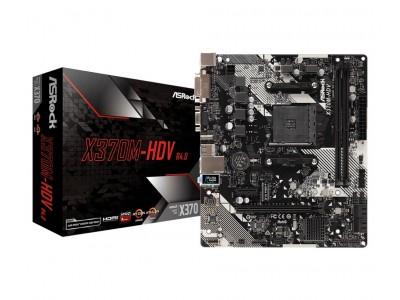 Материнская плата AMD X370 SAM4 MATX X370M-HDV R4.0 ASROCK