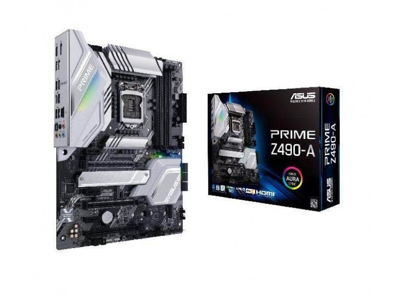 Материнская плата Z490 S1200 ATX PRIME Z490-A ASUS