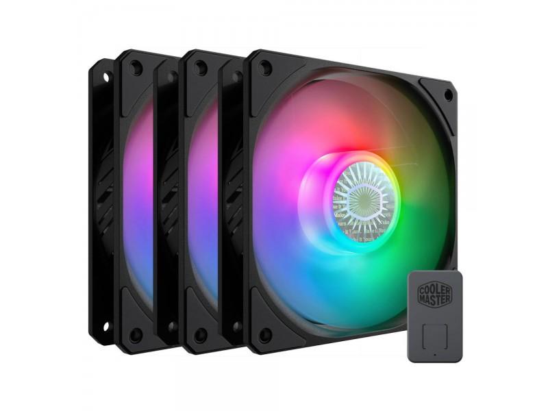 Вентилятор для корпуса 120MM 3IN1 B2DN-183PA-R1 COOLER MASTER
