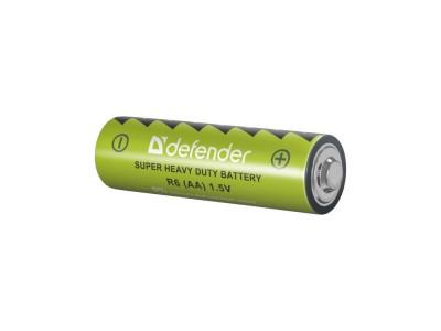Батарея ZINK CARBON AA 1.5V R6-4F 4PCS 56111 DEFENDER