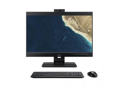 "Моноблок ACER Veriton Z4860G i3-8100 Частота процессора 3600 МГц/23.8"" 1920x1080/4Гб/1Тб/Intel UHD Graphics 630 встроенная/DVDRW/Windows 10 Pro DQ.VRZER.036"