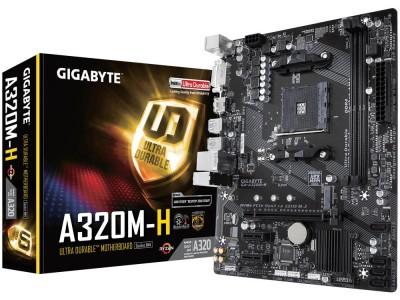 Материнская плата AMD A320 SAM4 MATX GA-A320M-H V1.1 GIGABYTE