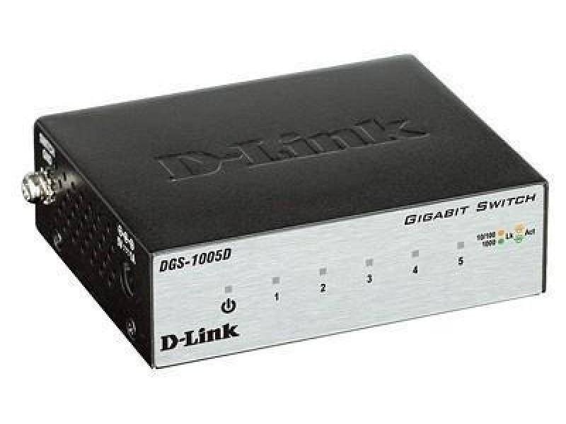 Коммутатор 5PORT 10/100/1000 DGS-1005D/I3A D-LINK