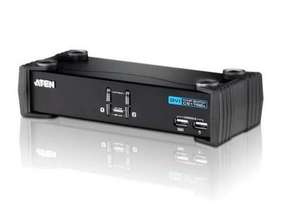 KVM-переключатель USB DVI 2PORT CS1762A-AT-G ATEN