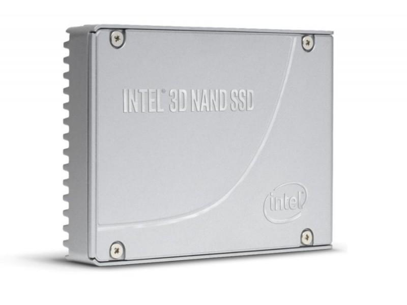 "SSD жесткий диск PCIE NVME 7.6TB TLC 2.5"" DC P4610 SSDPE2KE076T801 INTEL"