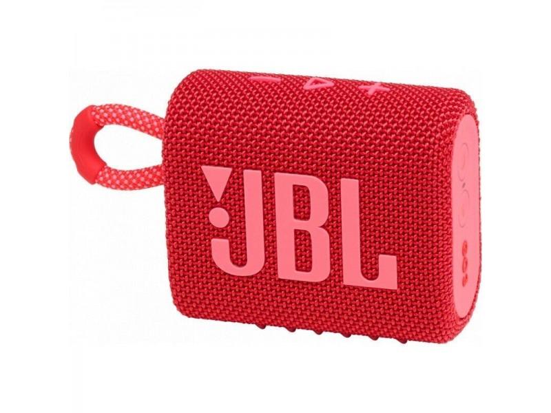 Акустическая система 1.0 BLUETOOTH GO 3 RED JBL