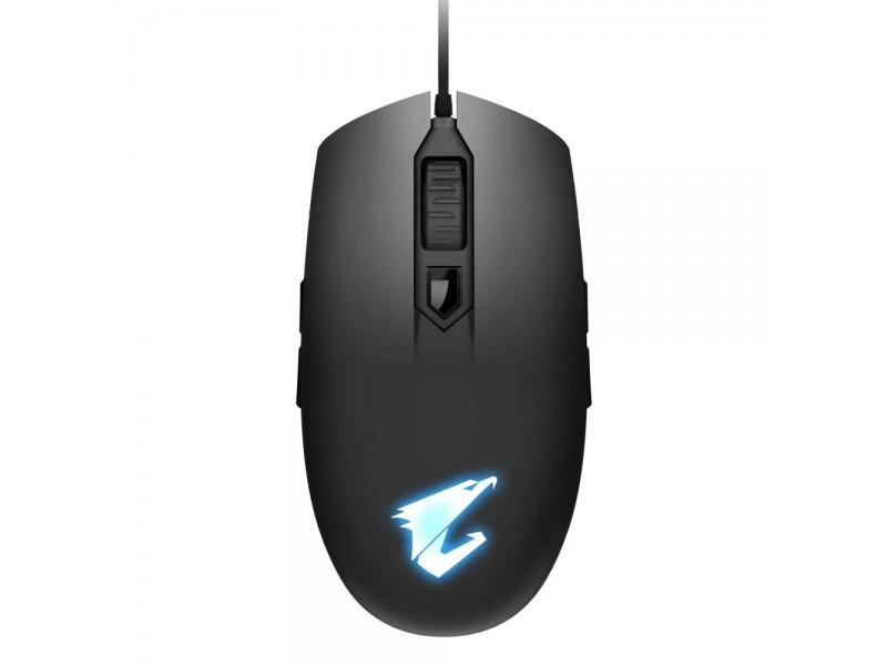 Мышка USB OPTICAL BLACK AORUS M2 GIGABYTE