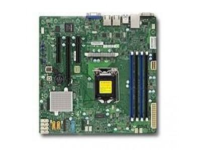 Серверная материнская плата C232 S1151 MATX BLK MBD-X11SSL-F-B SUPERMICRO