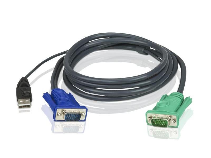 Кабель SPHD-VGA USB 5M 2L-5205U ATEN