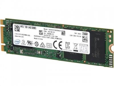 SSD жесткий диск M.2 2280 128GB TLC 545S SER SSDSCKKW128G8 INTEL