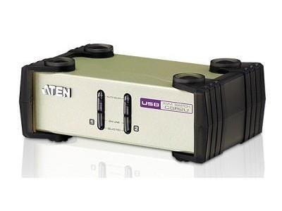 KVM-переключатель PS2 USB VGA 2PORT W/CAB CS82U-AT ATEN