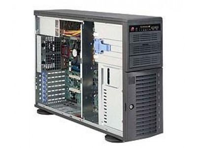 Корпус для сервера 4U 665W EATX CSE-743I-665B SUPERMICRO