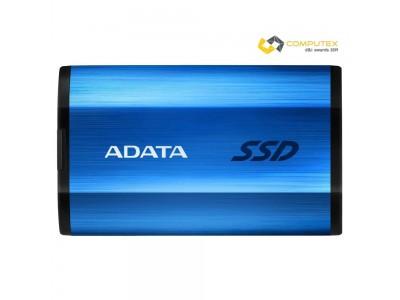SSD жесткий диск USB-C 512B EXT. BLUE ASE800-512GU32G2-CBL A-DATA