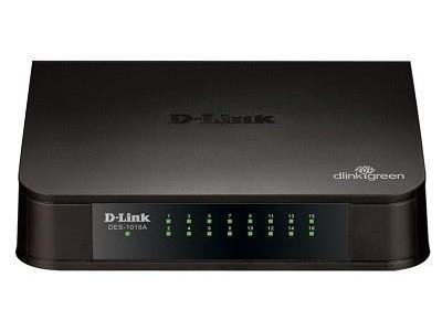 Коммутатор 16PORT 10/100M DES-1016A/E1B D-LINK