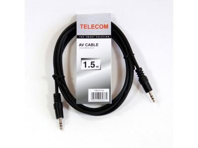 Кабель AUDIO 3.5MM 1.5M TAV7175-1.5M TELECOM