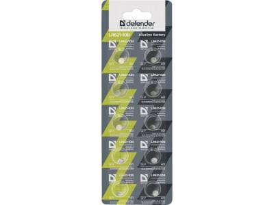 Батарея ALKALINE LR621-10B AG1 10PCS 56301 DEFENDER