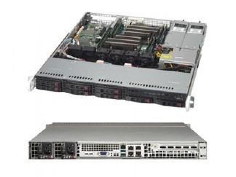 Корпус для сервера 1U 600W BLACK CSE-113MFAC2-R606CB SUPERMICRO