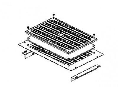 Крепежный комплект для вентиляторов DP-VER-06F-H CONTEG
