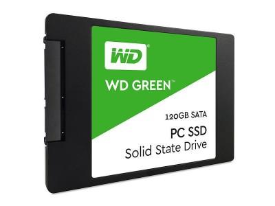 """SSD жесткий диск SATA2.5"""" 120GB TLC GREEN WDS120G2G0A WDC"""