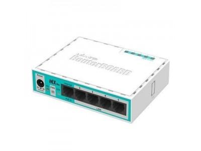 Маршрутизатор 10/100M 5PORT HEX LITE RB750R2 MIKROTIK