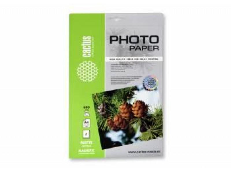 Бумага A4 PHOTO MATTE MAGNETIC 2SH CS-MMA46902 CACTUS