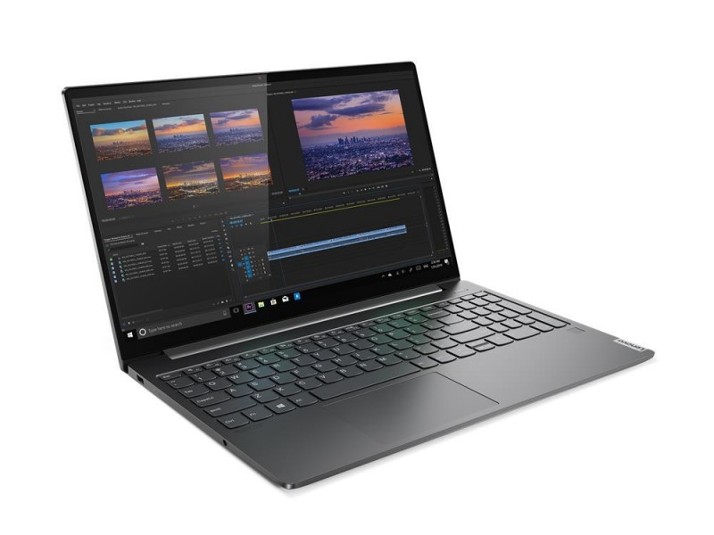 "Ноутбук LENOVO Yoga S740-15IRH i9-9880H 2300 МГц 15.6"" 1920x1080 16Гб SSD 1Тб нет DVD NVIDIA GeForce GTX 1650 Max-Q 4Гб Windows 10 Home Iron Grey 81NX003TRU"
