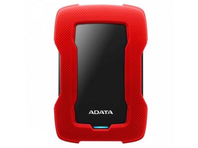 """Жесткий диск USB3.1 1TB EXT. 2.5"""" RED AHD330-1TU31-CRD ADATA"""