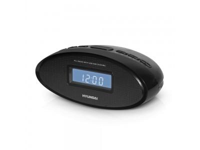 Часы с радио BLACK H-1535 HYUNDAI