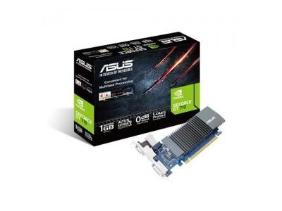 Видеокарта PCIE8 GT710 1GB GDDR5 GT710-SL-1GD5 ASUS