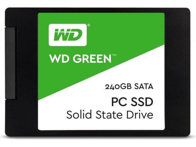 """SSD жесткий диск SATA2.5"""" 240GB TLC GREEN WDS240G2G0A WDC"""