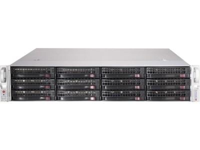 Корпус для сервера 2U 740W CSE-826BE1C-R741JBO SUPERMICRO