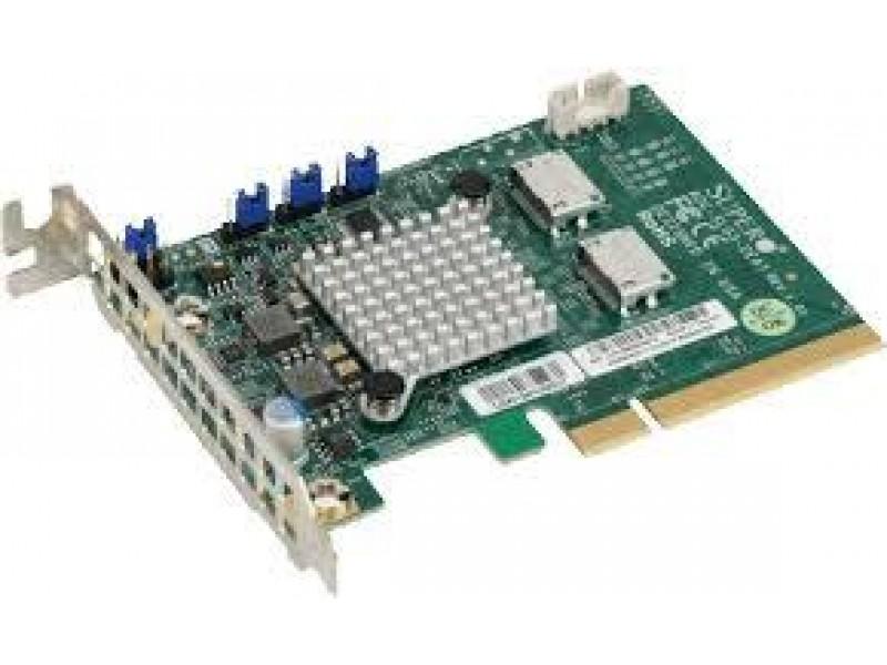 Аксессуар для серверного оборудования NVME AOC CARD AOC-SLG3-2E4T-O SUPERMICRO
