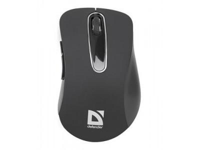 Мышка USB OPTICAL WRL DATUM MM-075 BLACK 52075 DEFENDER